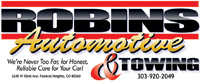 Robins Automotive and Towing